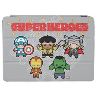 Kawaii Marvel Super Heroes iPad Air Cover