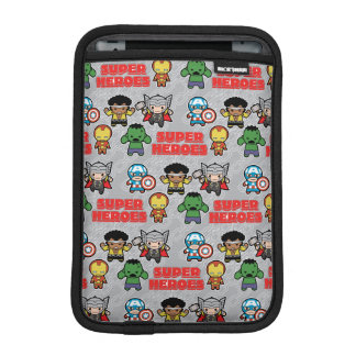 Kawaii Marvel Super Heroes iPad Mini Sleeve