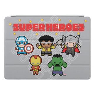Kawaii Marvel Super Heroes iPad Pro Cover
