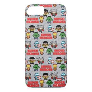 Kawaii Marvel Super Heroes iPhone 8/7 Case