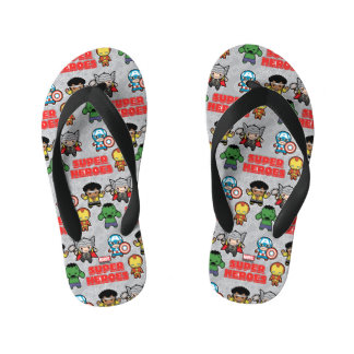 Kawaii Marvel Super Heroes Kid's Thongs