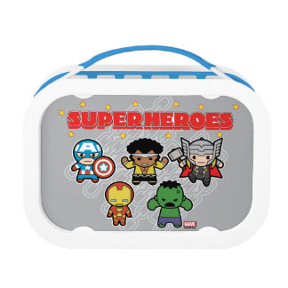 Kawaii Marvel Super Heroes Lunch Box