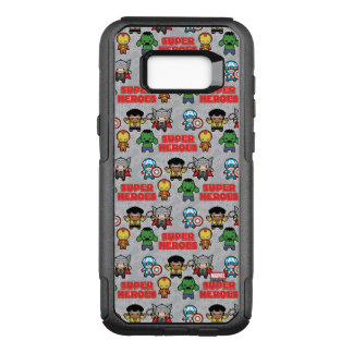 Kawaii Marvel Super Heroes OtterBox Commuter Samsung Galaxy S8+ Case
