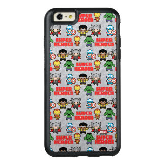Kawaii Marvel Super Heroes OtterBox iPhone 6/6s Plus Case