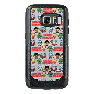 Kawaii Marvel Super Heroes OtterBox Samsung Galaxy S7 Case