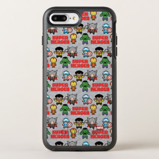 Kawaii Marvel Super Heroes OtterBox Symmetry iPhone 8 Plus/7 Plus Case