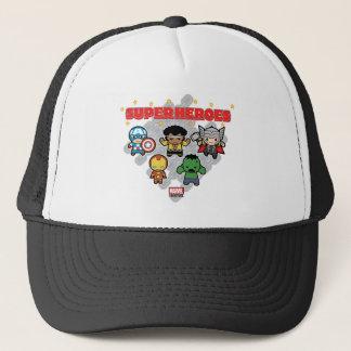 Kawaii Marvel Super Heroes Trucker Hat