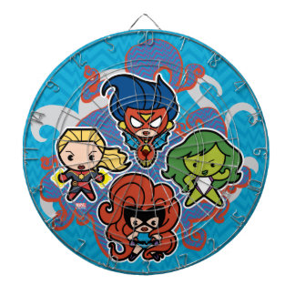 Kawaii Marvel Super Heroines Dartboard