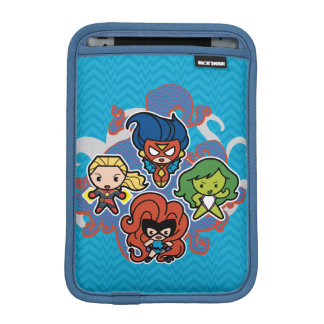 Kawaii Marvel Super Heroines iPad Mini Sleeve