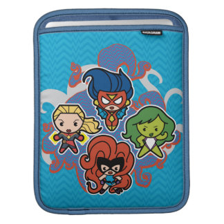 Kawaii Marvel Super Heroines iPad Sleeve