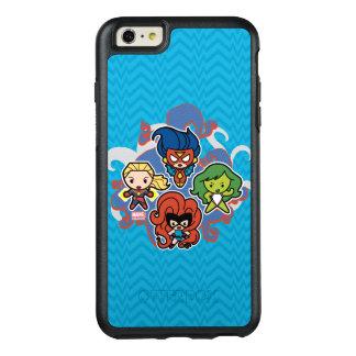 Kawaii Marvel Super Heroines OtterBox iPhone 6/6s Plus Case