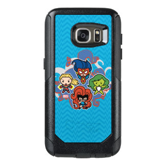 Kawaii Marvel Super Heroines OtterBox Samsung Galaxy S7 Case