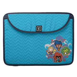 Kawaii Marvel Super Heroines Sleeve For MacBook Pro