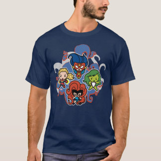 Kawaii Marvel Super Heroines T-Shirt