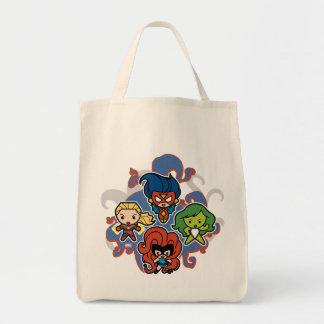 Kawaii Marvel Super Heroines Tote Bag