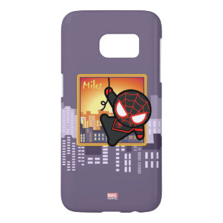Kawaii Miles Morales City Sunset