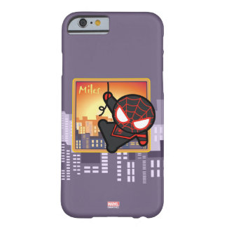 Kawaii Miles Morales City Sunset Barely There iPhone 6 Case
