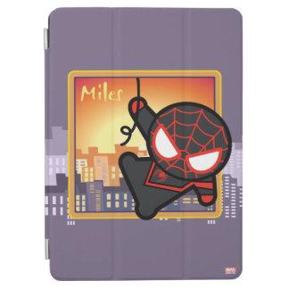 Kawaii Miles Morales City Sunset iPad Air Cover