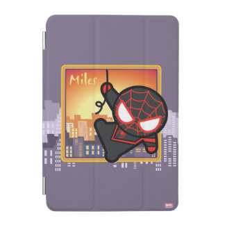 Kawaii Miles Morales City Sunset iPad Mini Cover