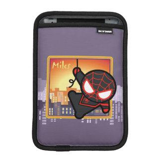 Kawaii Miles Morales City Sunset iPad Mini Sleeve