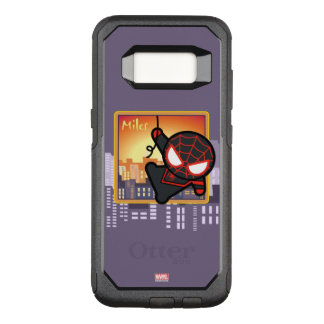 Kawaii Miles Morales City Sunset OtterBox Commuter Samsung Galaxy S8 Case