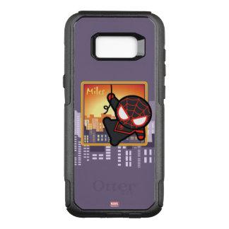 Kawaii Miles Morales City Sunset OtterBox Commuter Samsung Galaxy S8+ Case