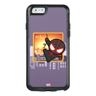 Kawaii Miles Morales City Sunset OtterBox iPhone 6/6s Case