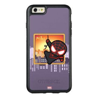 Kawaii Miles Morales City Sunset OtterBox iPhone 6/6s Plus Case
