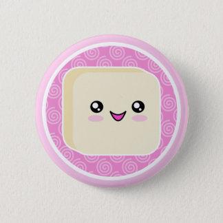 Kawaii Mochi Cake Button Badge