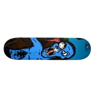 Kawaii Monster Attack 21.3 Cm Mini Skateboard Deck