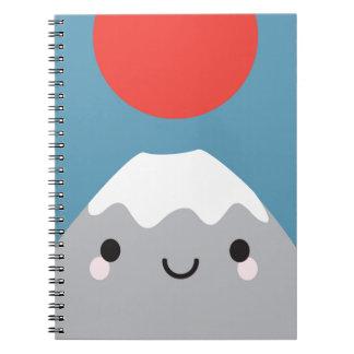 Kawaii Mt Fuji Note Book