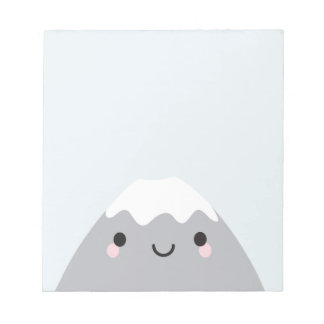 Kawaii Mt Fuji San Notepad