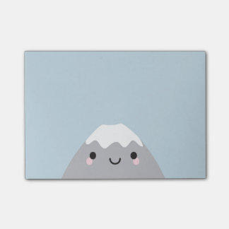 Kawaii Mt Fuji San Post-it Notes
