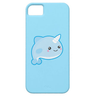 Kawaii Narwhal Barely There iPhone 5 Case