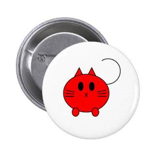 Kawaii Neko Linux Cat 6 Cm Round Badge