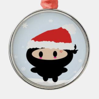 Kawaii Ninja Christmas Ornament