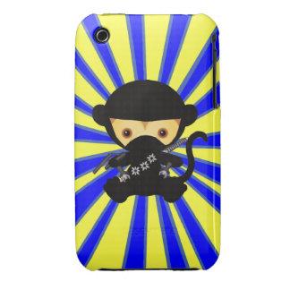 Kawaii Ninja Monkey Case-Mate iPhone 3 Case