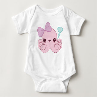Kawaii Octopus Baby Bodysuit