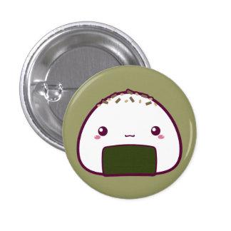 Kawaii Onigiri 3 Cm Round Badge