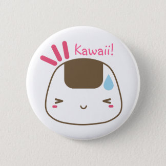 Kawaii Onigiri button