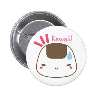 Kawaii Onigiri button