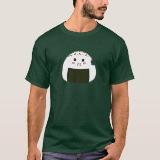 "Kawaii ""Onigiri"" Rice Ball with Bitemark T-Shirt"