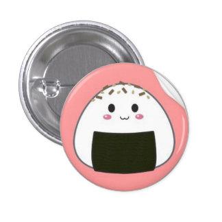 kawaii_onigiri_rice_ball_with_toppings_sticker-p21 3 cm round badge