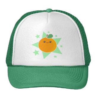 Kawaii Orange Fruit Hat