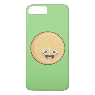 Kawaii Orange iPhone 7 Plus Case