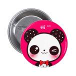 Kawaii panda badges