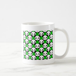 Kawaii Panda Bear Pattern Coffee Mug