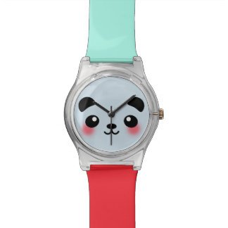Kawaii Panda Face Watch