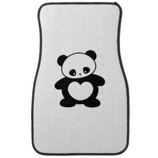 Kawaii panda floor mat