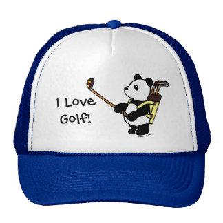 Kawaii Panda Golfer Cap